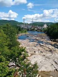 Rumford Mill, Rumford Maine by TwinWolfSister
