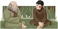 Iroh and Zuko [Original size]