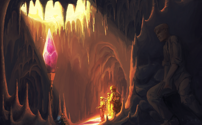 Caverns of the Crystal