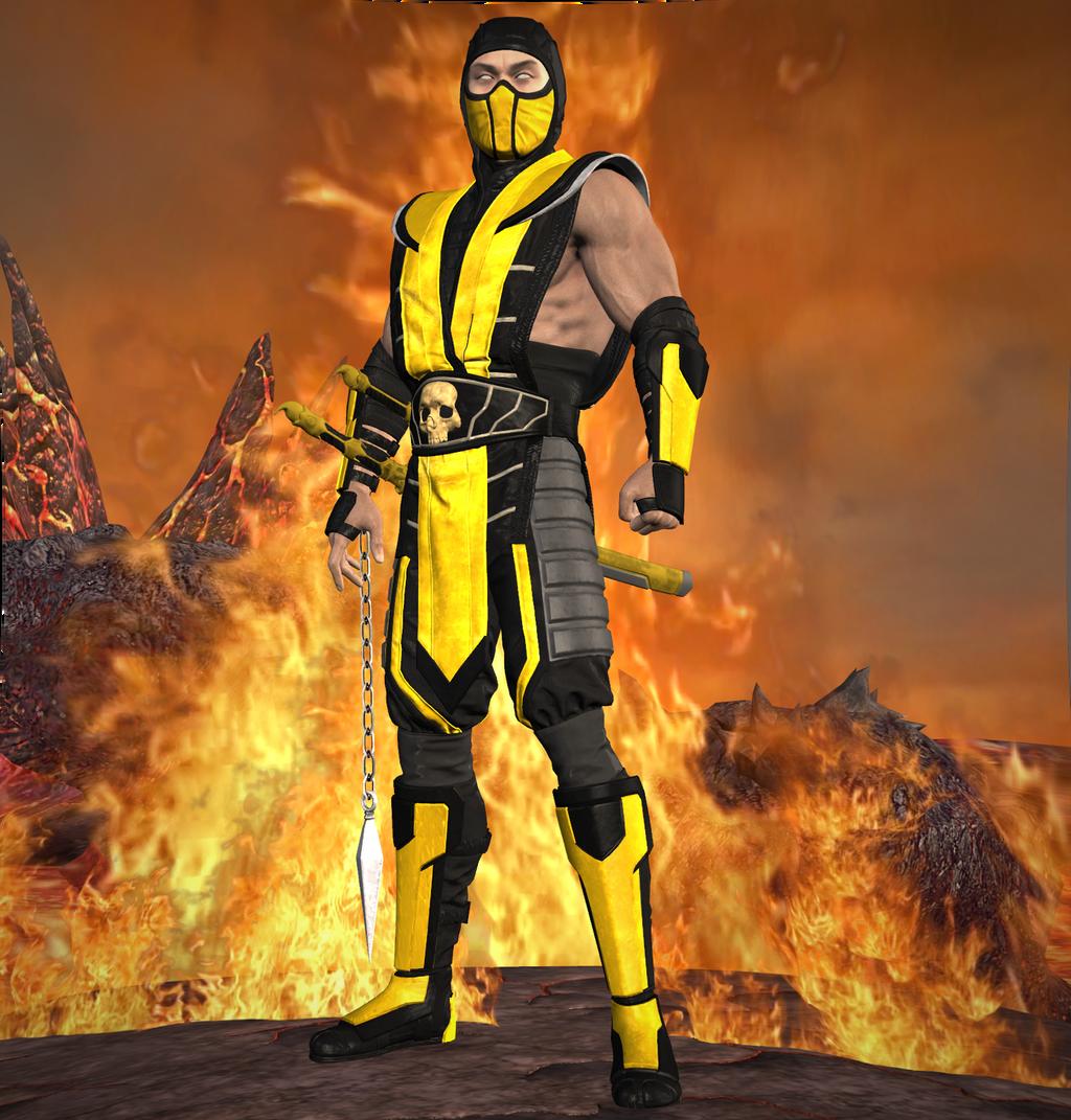 Scorpion MK11 (O G  Ninja) by lonelygoer on DeviantArt