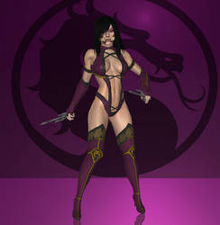Mileena MK (Revived) by lonelygoer