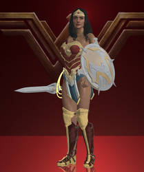 Wonder Woman Injustice 2 {18+} by lonelygoer
