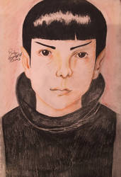 Spock as a child from Star Trek (2009) by ChuckyAndy