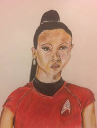 Nyota Uhura  by ChuckyAndy