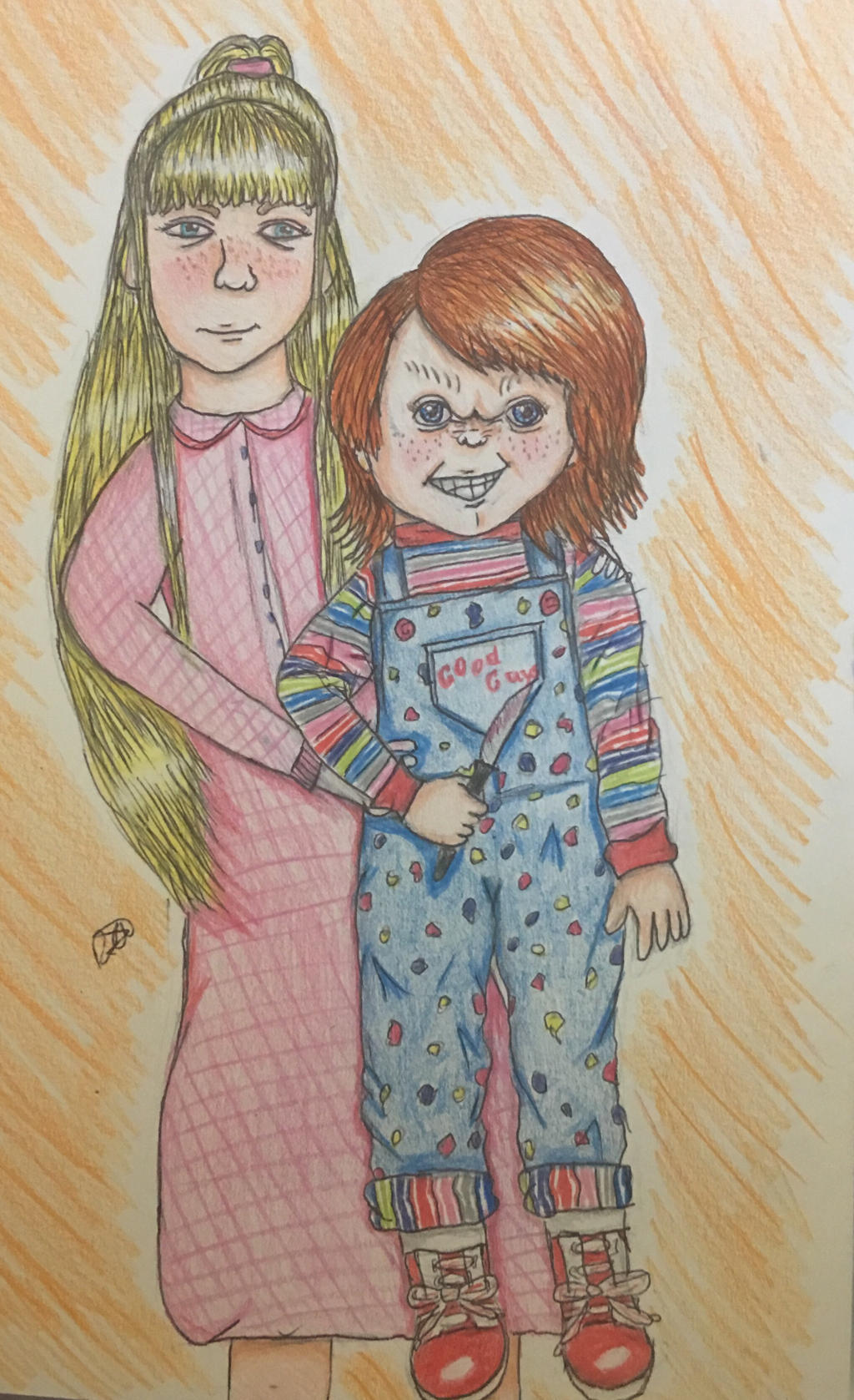 Chucky and Alice by ChuckyAndy