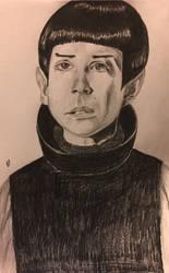 Spock as a kid by ChuckyAndy