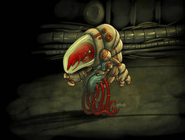 Mutant shrimp from Mars by redeve