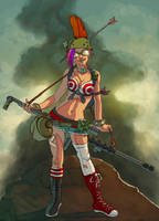 TANKGIRL by redeve