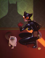 Catwoman by redeve