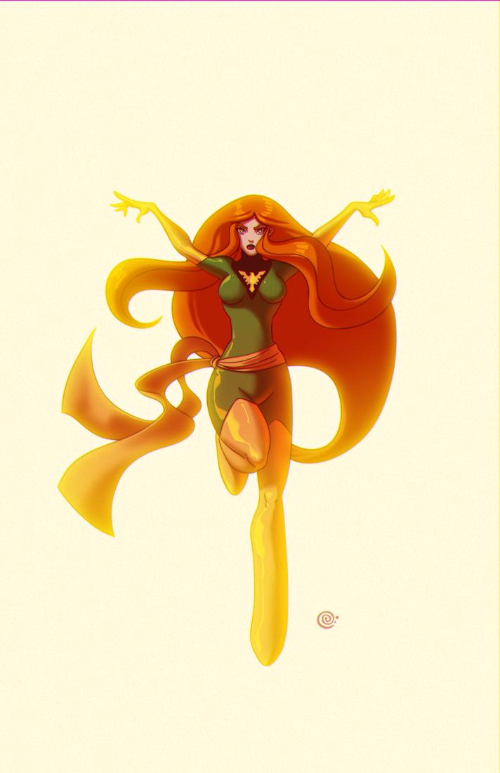 Phoenix Green by redeve