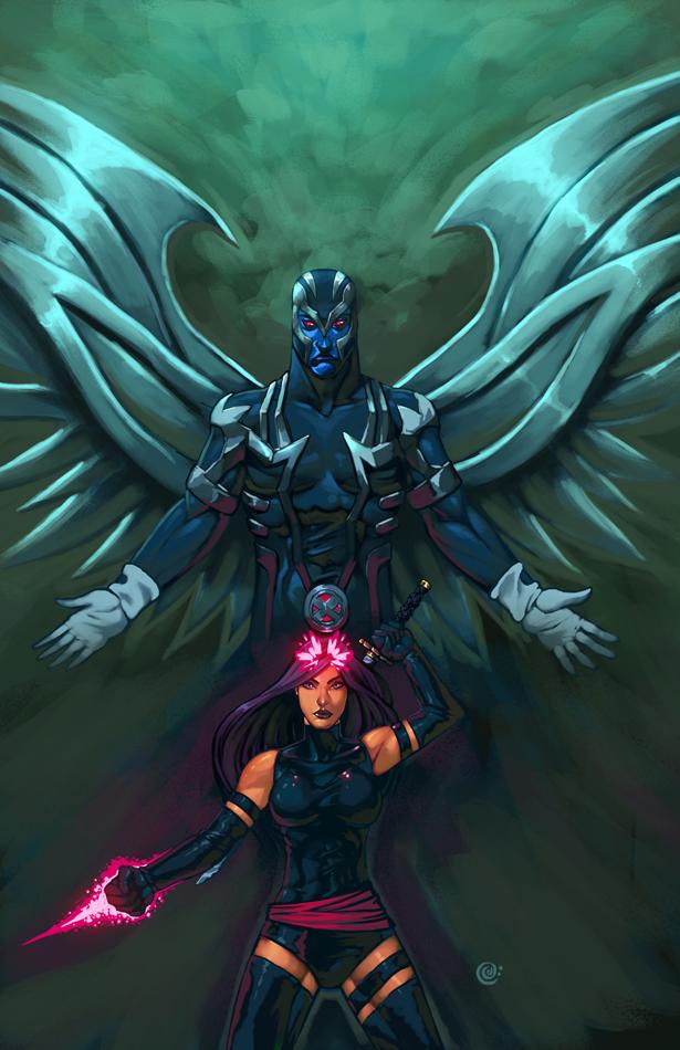Psylock Archangel by redeve