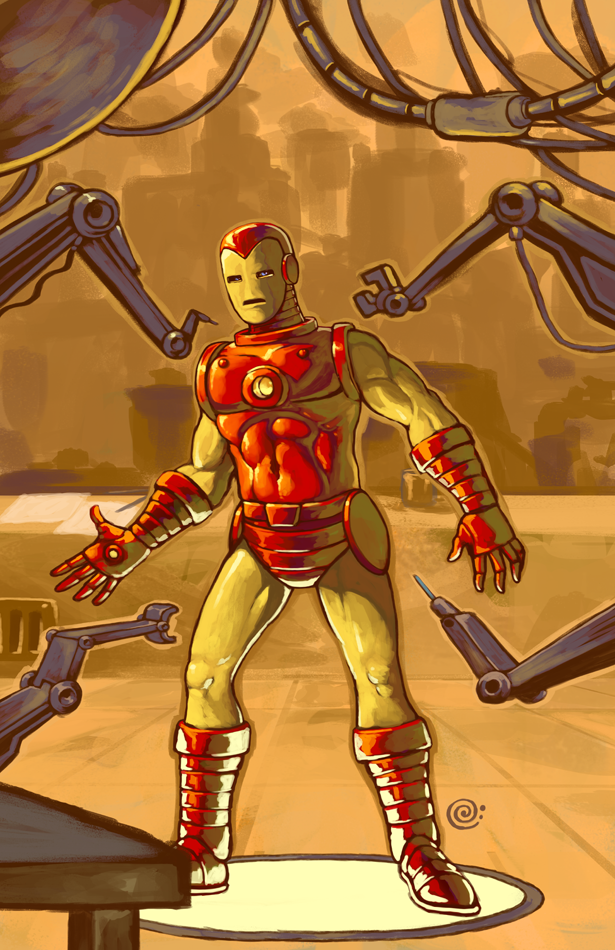 Iron Man classic by redeve