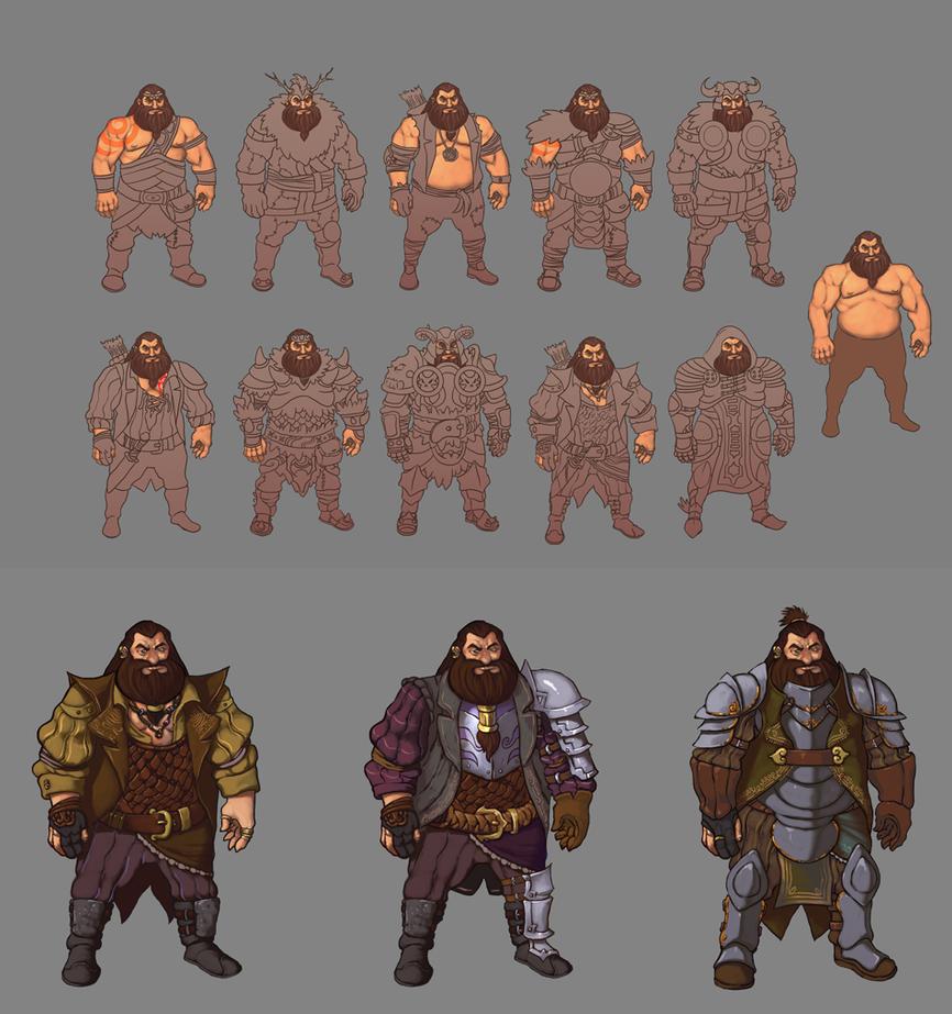 Dwarf concept test by redeve