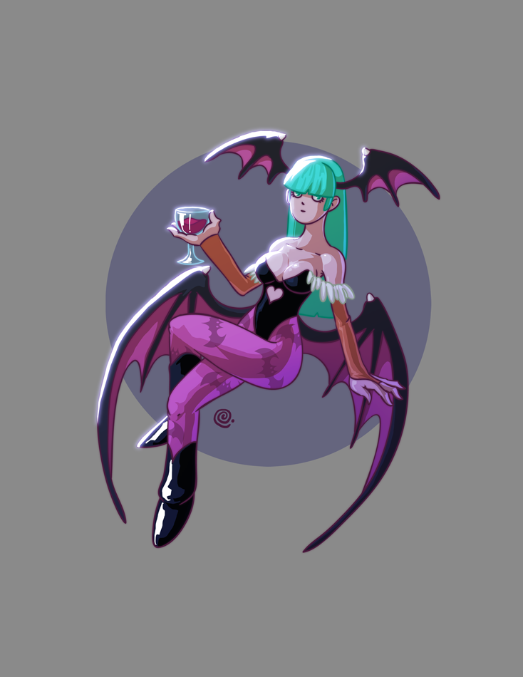 Morrigan by redeve