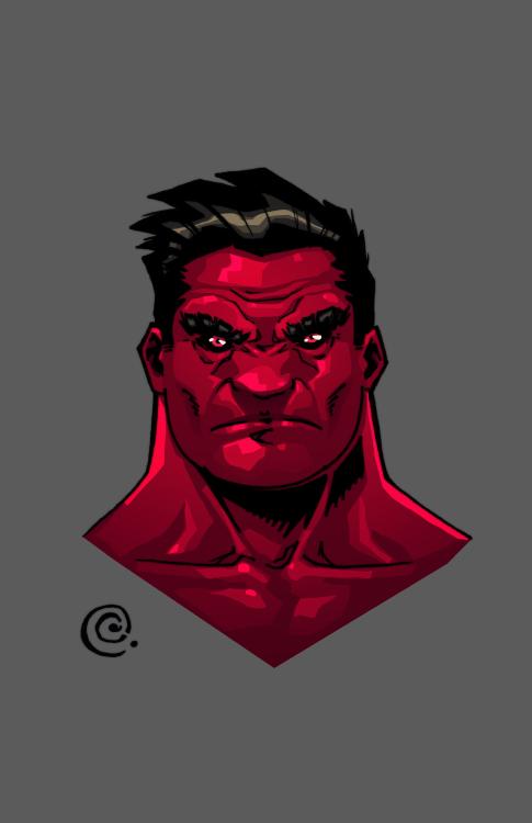 Hulk-red by redeve