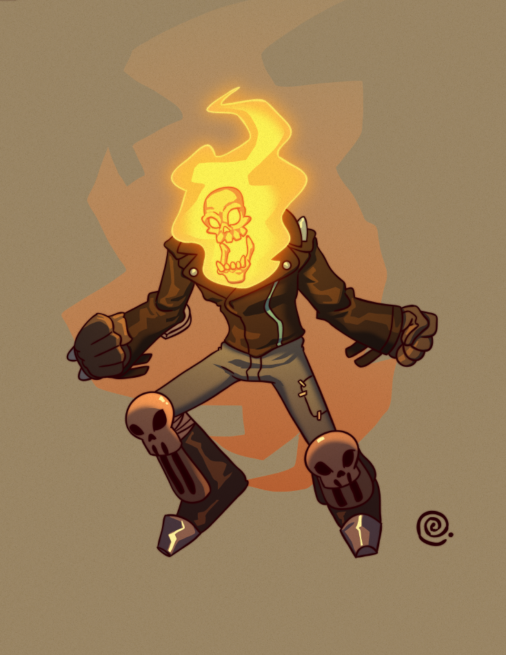 Ghost Rider by redeve