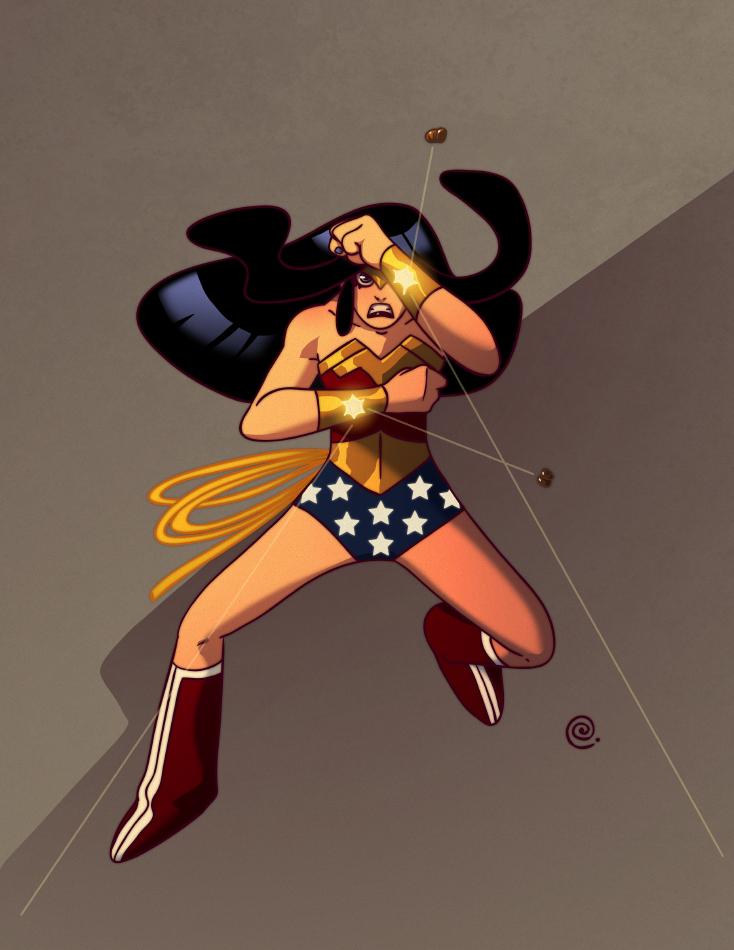Wonder-woman by redeve
