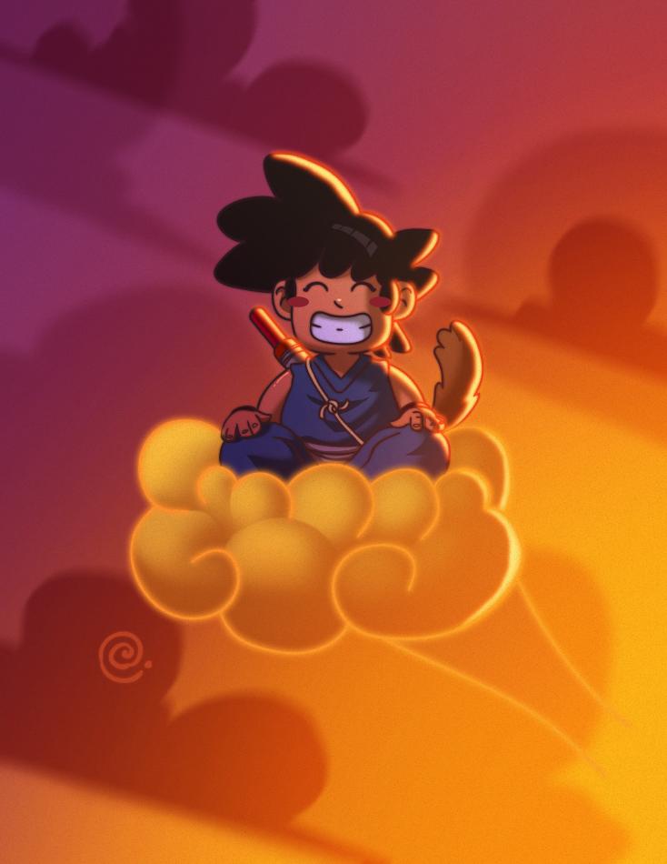 Goku by redeve