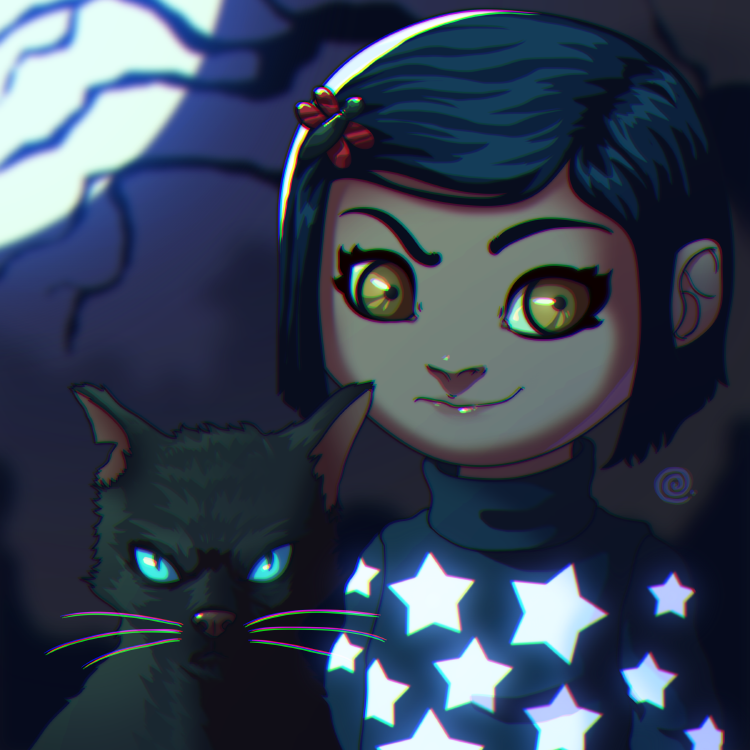 Coraline by redeve