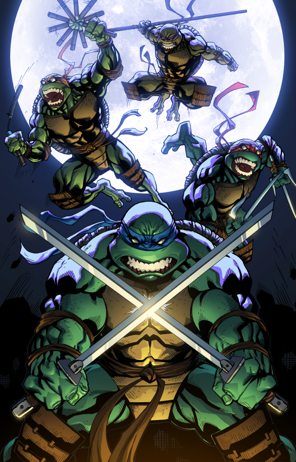 TMNT color by redeve