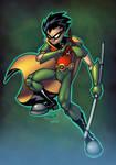 Teen Titans Robin Color