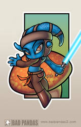 Mini Aayla color by redeve