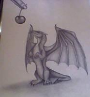 hungry baby dragon