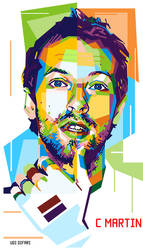 wpap - Chris Martin by ugigifari
