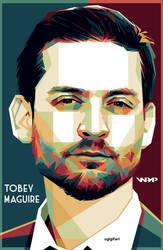 Tobey Maguire in WPAP by ugigifari