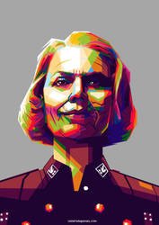 Frau Irene Engel WPAP by ugigifari