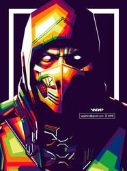 Scorpion Mortal Kombat - WPAP by ugigifari