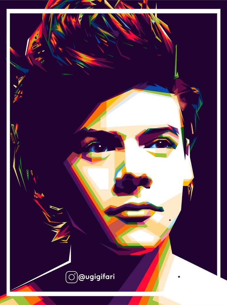 Harry Styles - WPAP by ugigifari