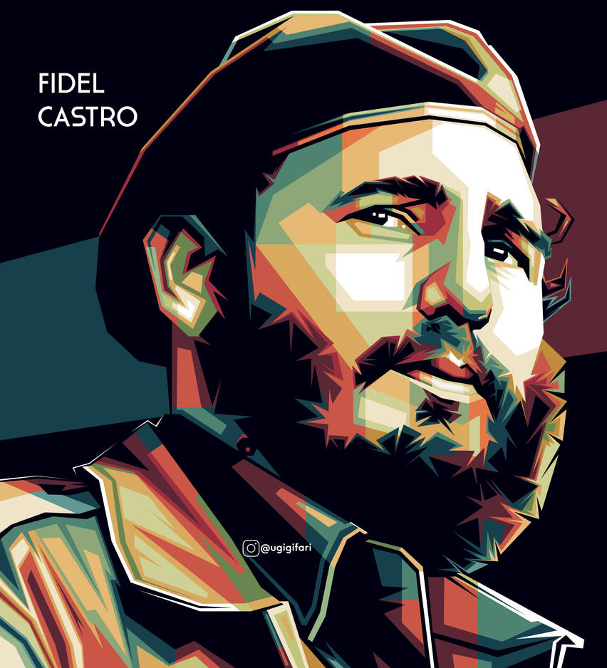 Fidel Castro - WPAP by ugigifari