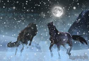 Snow Dancers. by BloodLustPyro