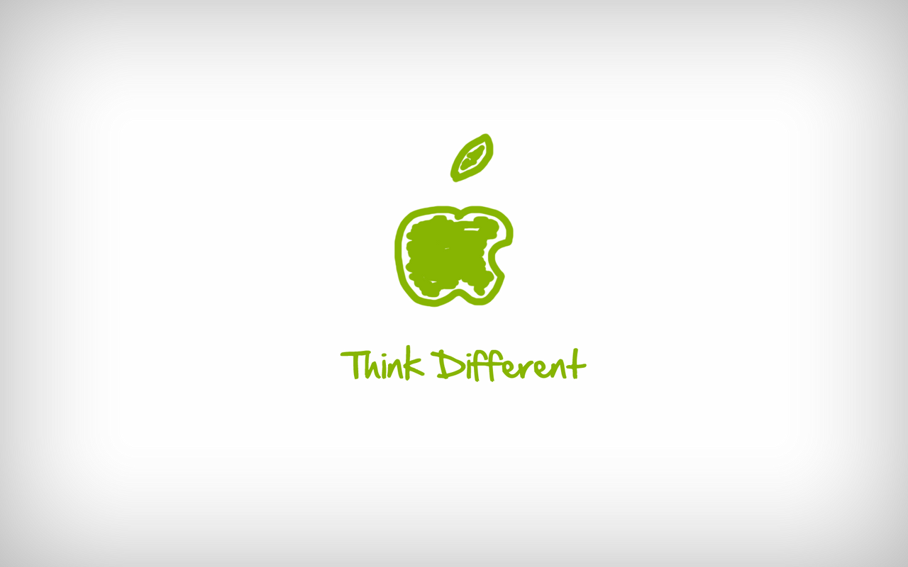 39 think different 39 wallpaper by ivince on deviantart