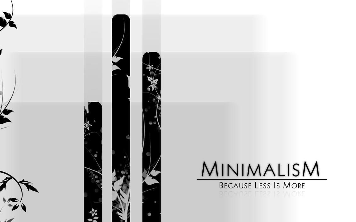 Minimalism by theroyalrebel