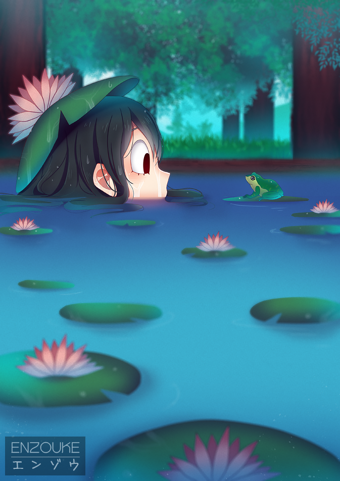 frog friend by enzouke on deviantart