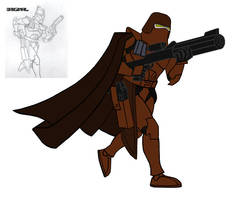 Trench Clone trooper by EliteHunterDS