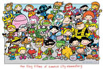 Tiny Titans cast shot Comic DC