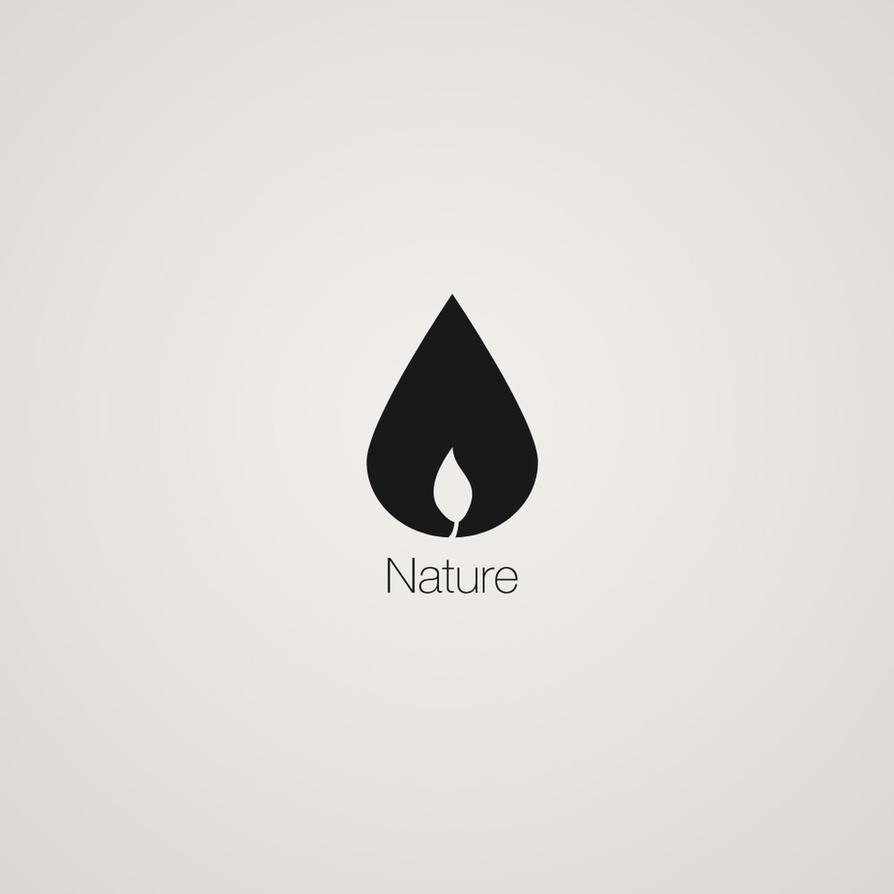 nature logo by kries on deviantart