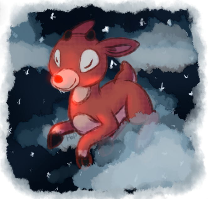 Rudolph by snafuangel