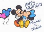Mickey and Minnie - 90th Aniversarry