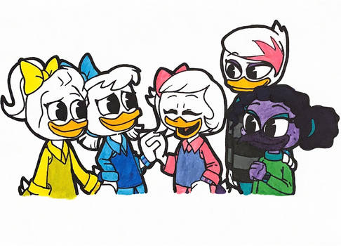 DuckTales (2017) Sisters and Best Friends