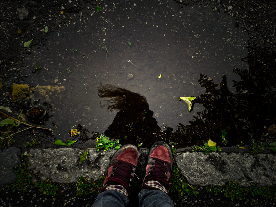 Stare into the water by TigresSinai