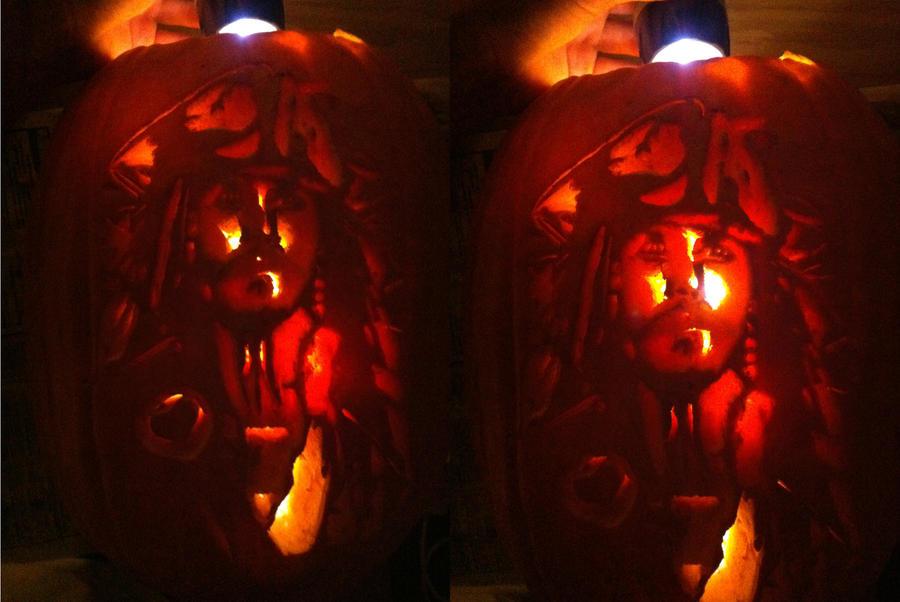 Captain Jack Pumpkin by MaxCooper67