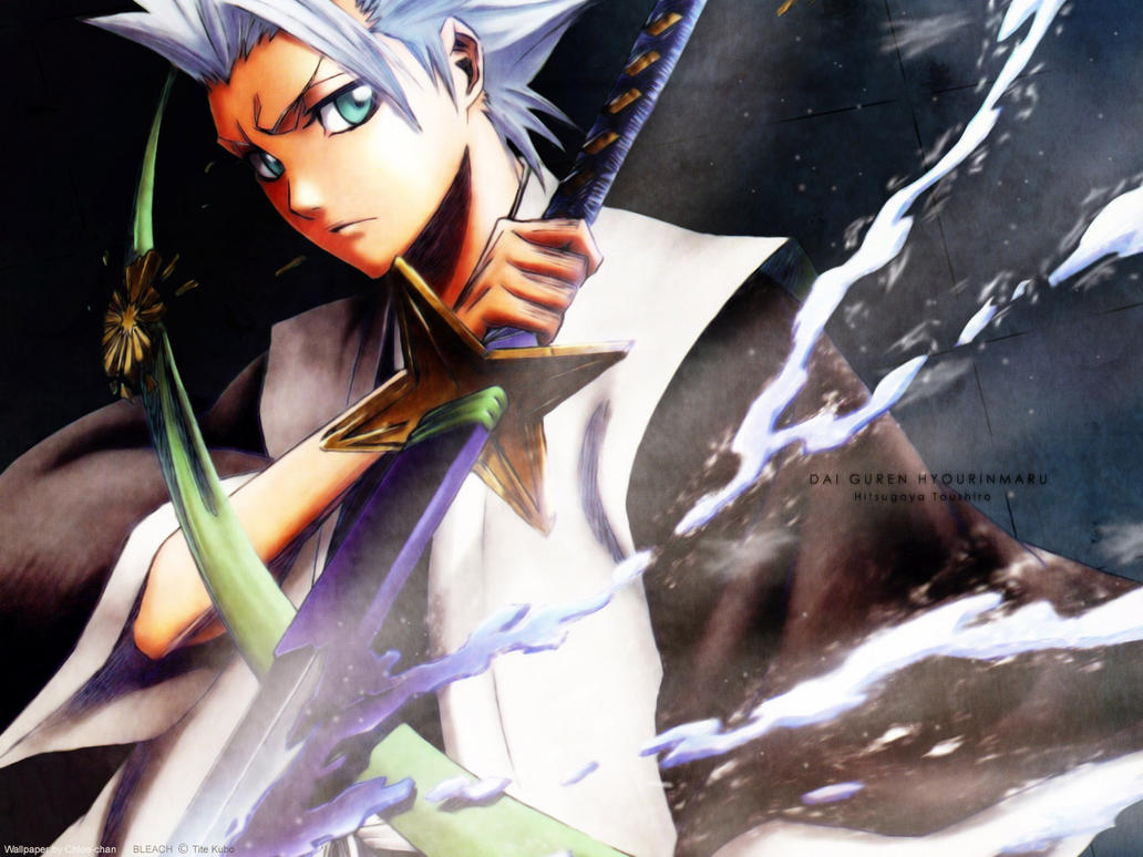 Toshiro Hitsugaya wallpaper by trigun1234567890