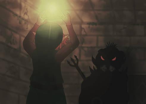 Link face a Ganon le Prince des Tenebres...