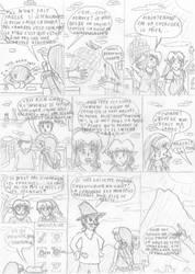 Link et la Recette Magique - Page 2 (Croquis)