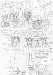 Link et la Recette Magique - Page 5 (Croquis)
