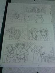 Link et la Recette Magique - Page 1 (Travaux)
